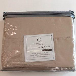 ClarkClark Signature 820Collection Queen Sheet Set